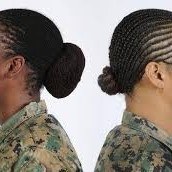 Hair styles in the US army