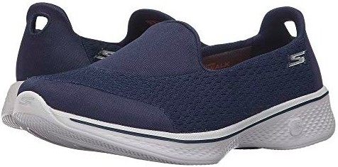 Skechers GoWalk 4 - Pursuit Blue(Navy/Gray)