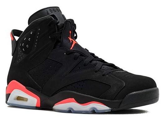 Air Jordan 6 Retro Black/Infrared 23-Black