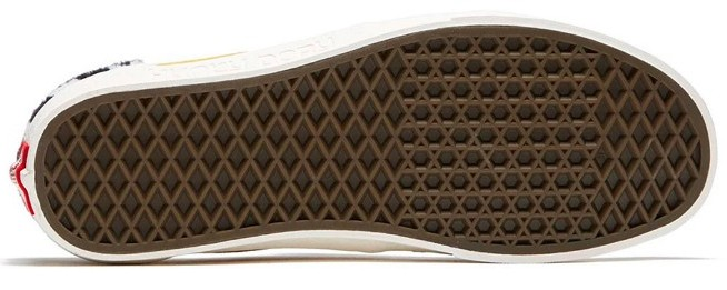 David Bowie Vans Slip-On 47VDX - Outsole