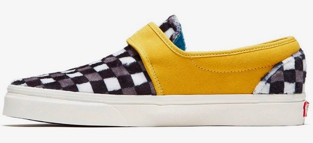 David Bowie Vans Slip-On 47VDX - Side View