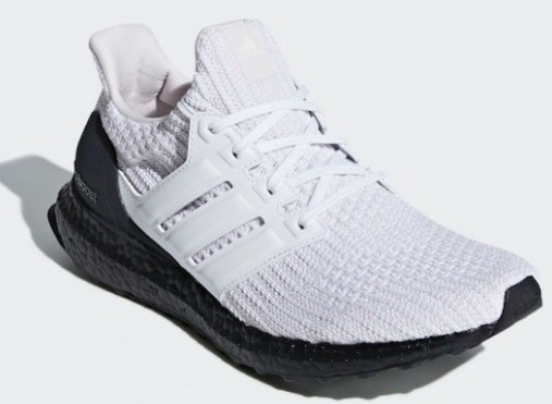 Ultra Boost 4.0 White Black - Upper View