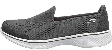 Skechers GoWalk 4 - Pursuit Grey (Charcoal)