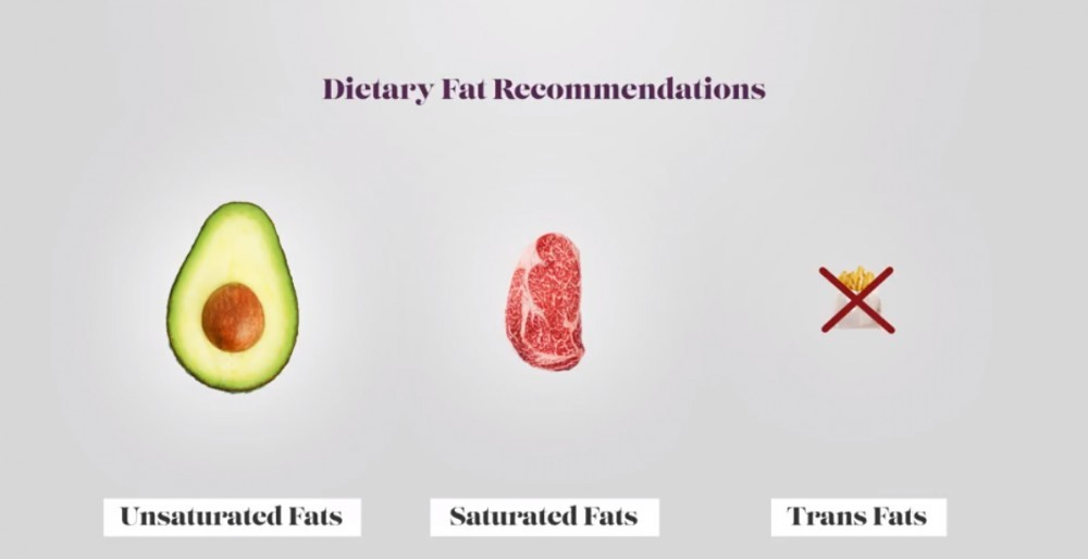 Fat intake recommendation