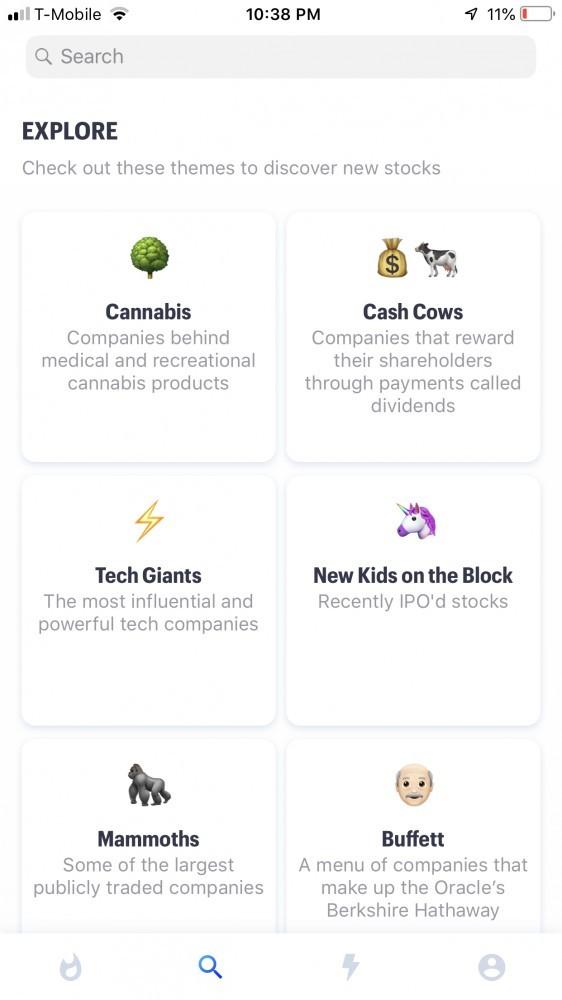 Matador categories