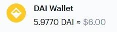 DAI Wallet
