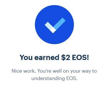 Coinbase Earn - Earn EOS