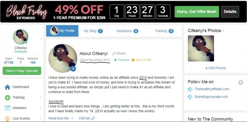 Wealthy Affiliate Journey