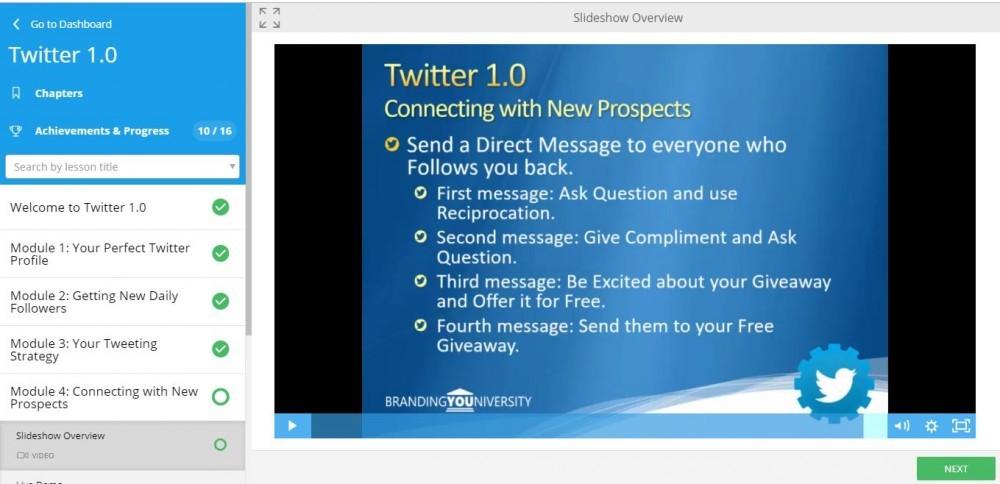 Twitter !.0 - Branding Youniversity