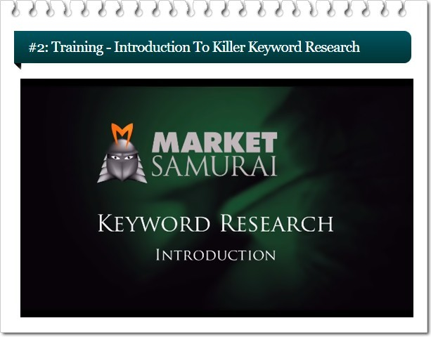 The market samurai review