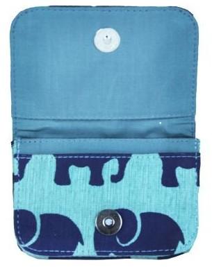 Malia Designs - Card Holder (Seafoam Elephant)