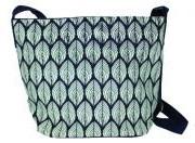 Malia Designs - Bucket Bag (Navy Leaf)