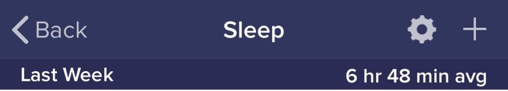 Sleep 20190324