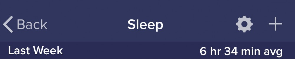 Sleep 20190310