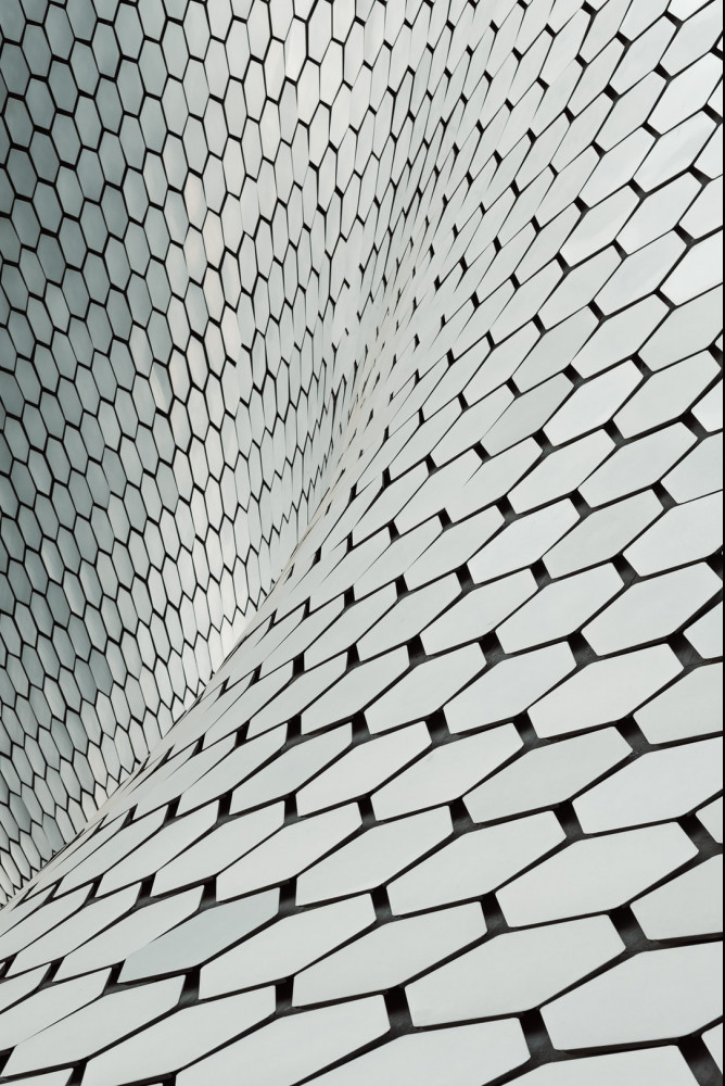 Facade of the Museo Soumaya.