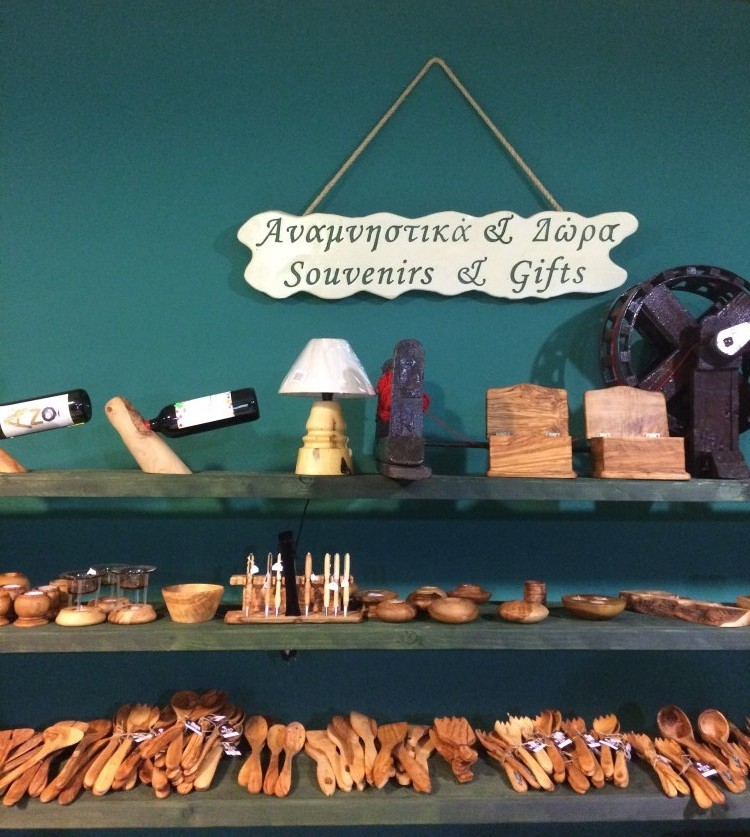 where to buy souvenirs herbs and gifts in Crete