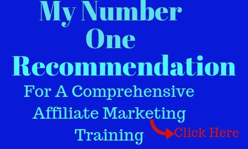 My number one recommendation for affiliate marketing training