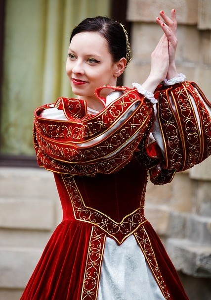 international dating tips a woman wearing a red East European dress