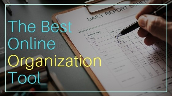 The Best Online Organization Tool