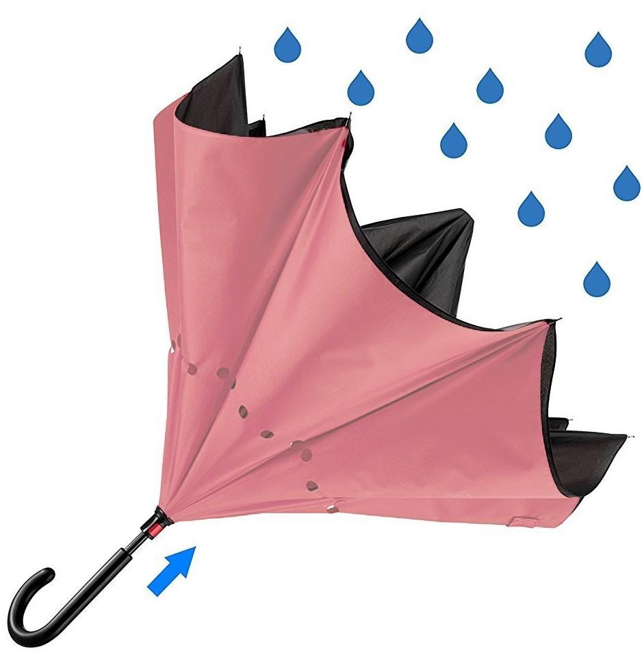 benefits of reverse close umbrella