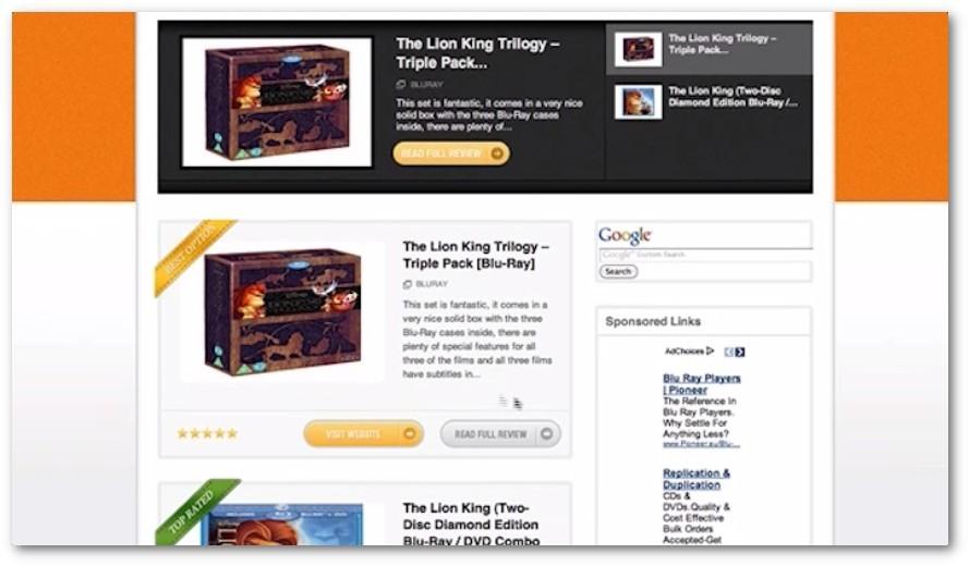 An Example of MMMP Website