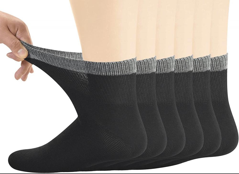Bamboo Diabetic Ankle Socks