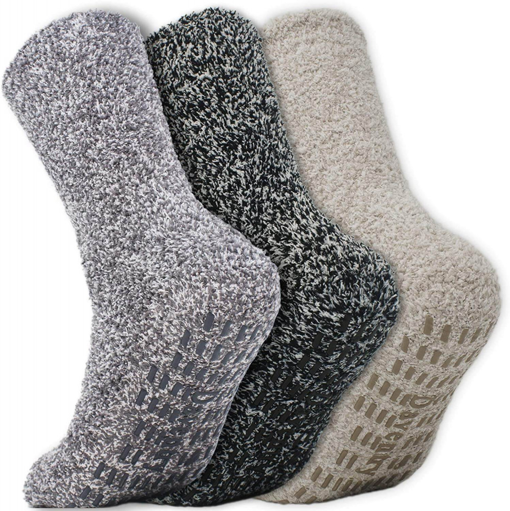 Daventry ultra-thick fluffy grip sock
