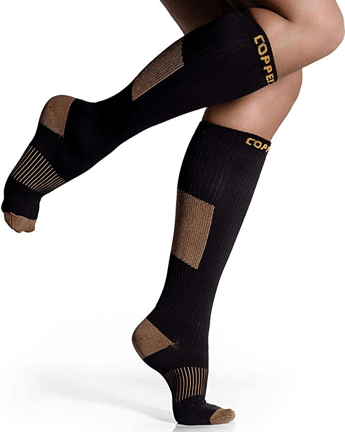 CopperJoint Long Compression Socks
