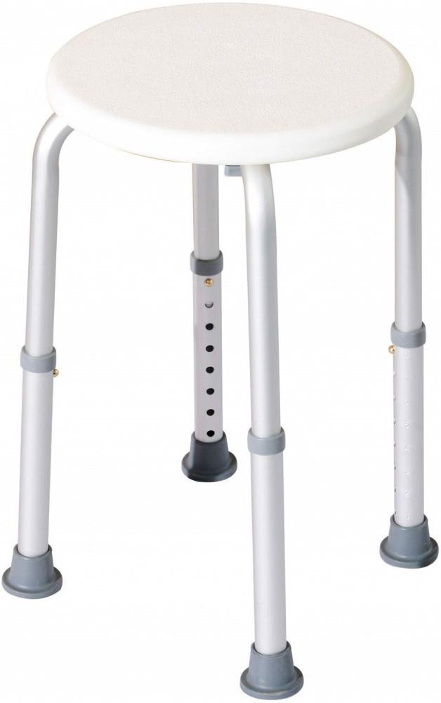 HOMCOM Bath Chair Shower Seat Safety Bathroom Elderly Aids with Adjustable Positions