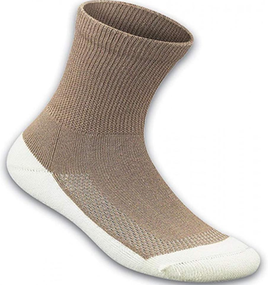 OrthoFeet Padded Sole Bamboo Socks