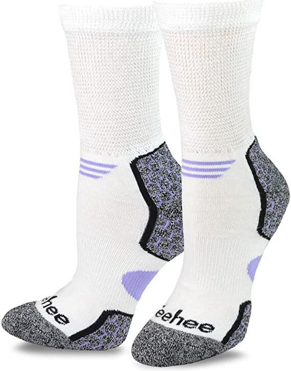 Teehee Viscose Diabetic Sports Socks