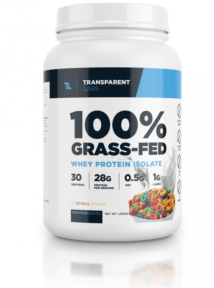 Transparent Labs Whey Protein Powder Review