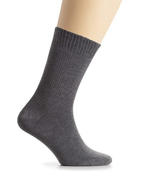 Hugh Ugoli Women's Bamboo Diabetic Crew Socks