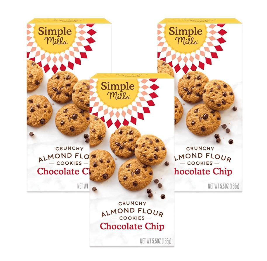 Simple Mills Almond Flavor Chocolate Chip Cookies