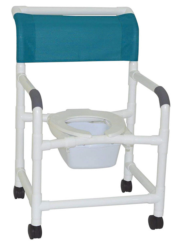 MJM Shower Chair with Square Pail