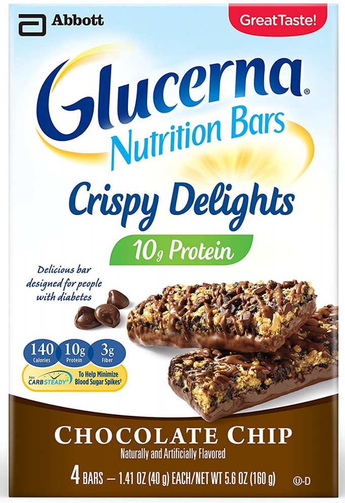 Glucerna Crispy Delight Bars