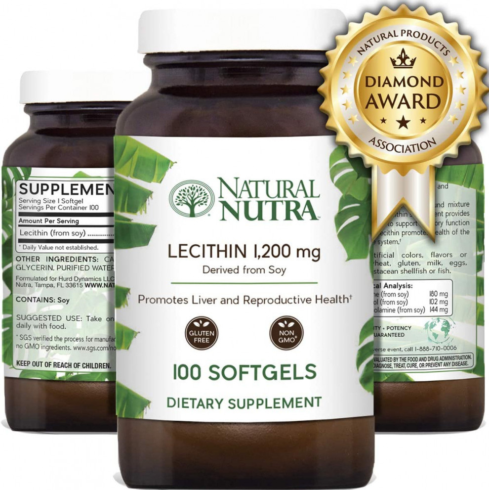 Natural Nutraceuticals Lecithin
