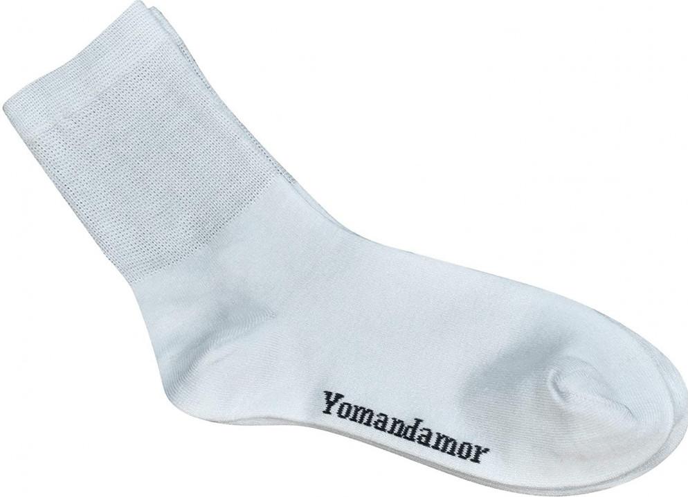 Yomandamor Women's Bamboo Diabetic Crew Socks