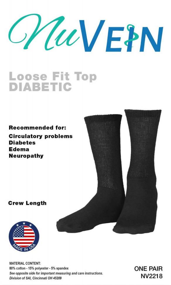 NuVein Diabetic Sock