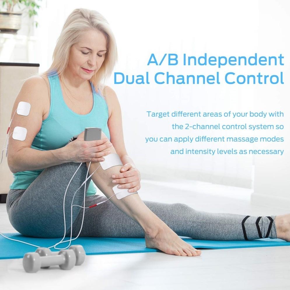 Ohuhu rechargeable Electronic Muscle Stimulator
