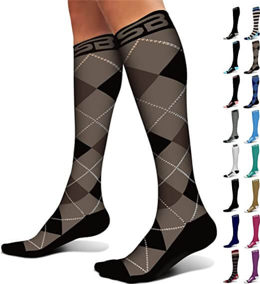 SB SOX Compression Socks at Amazon