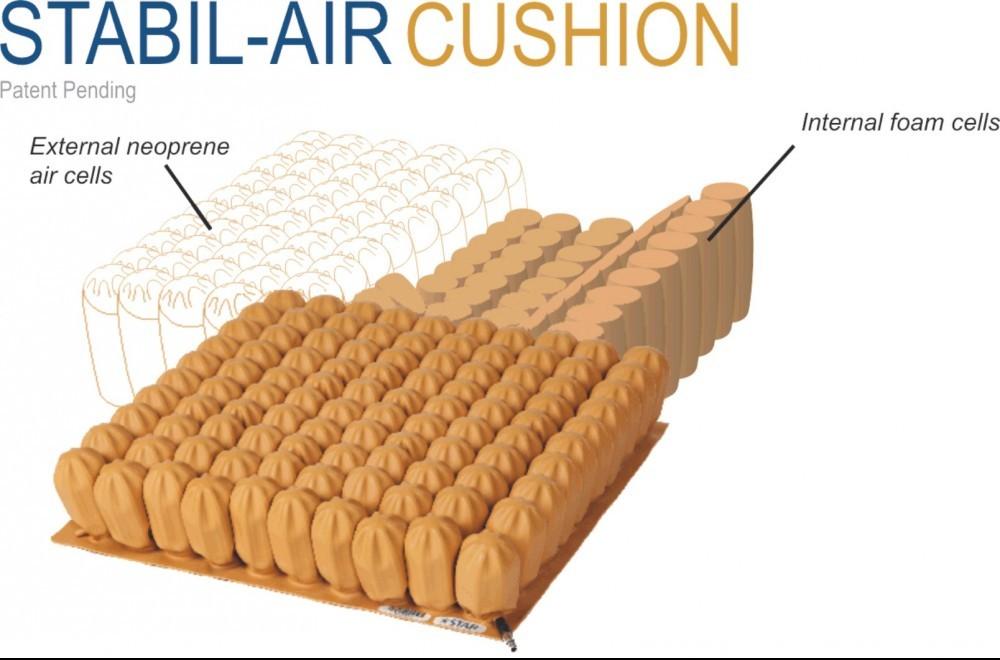 Star Stabil-Air Wheelchair Cushion