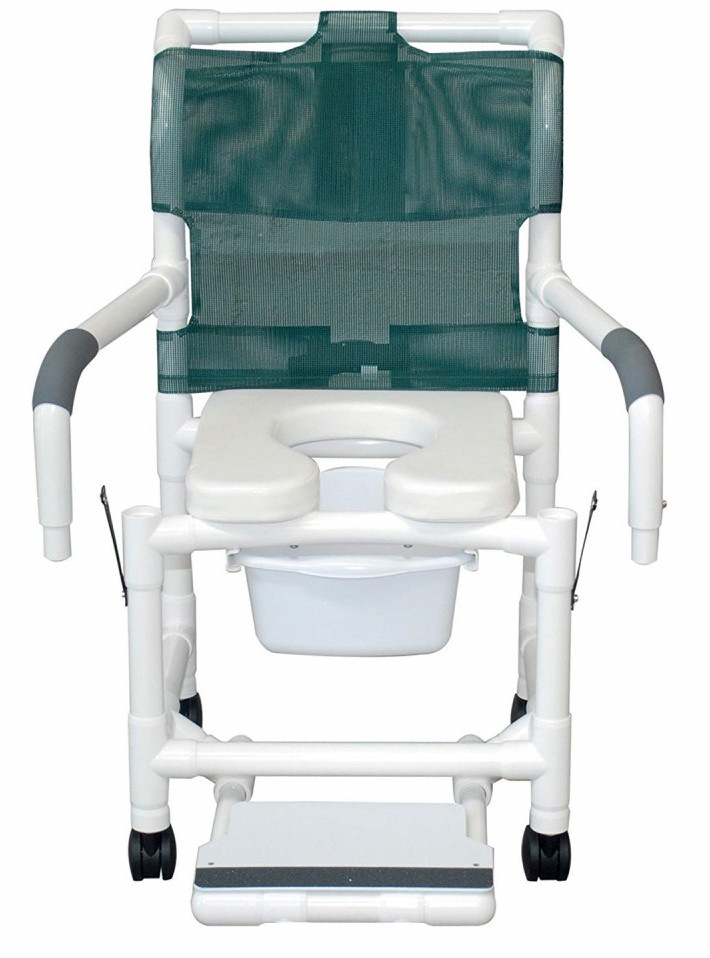 MJM Shower Chair with the Soft Removable Center Section
