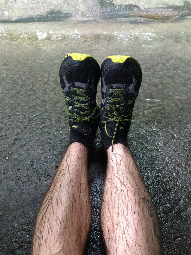 Running in the New York rains 2015