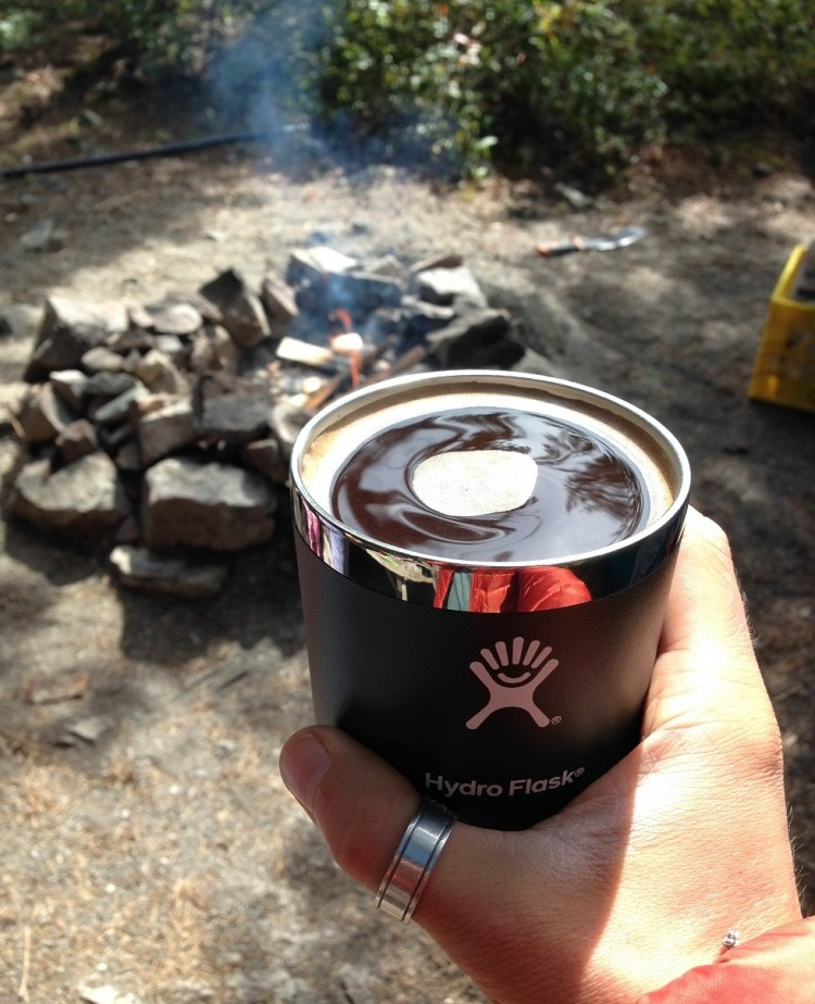 Cold brew by the fire!