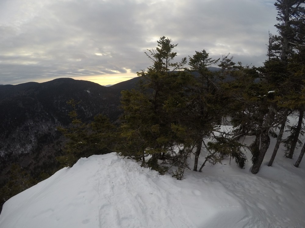Noon Peak sunrise
