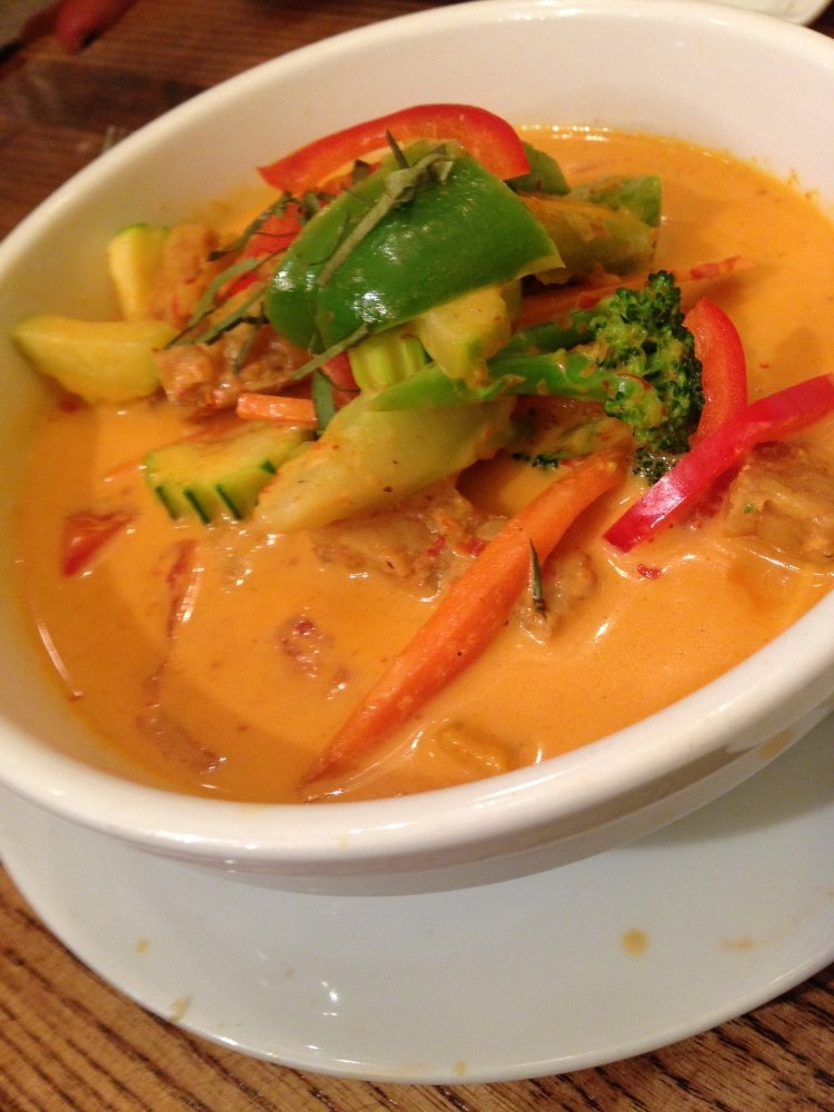 Panang Curry Vegetable & Tempeh