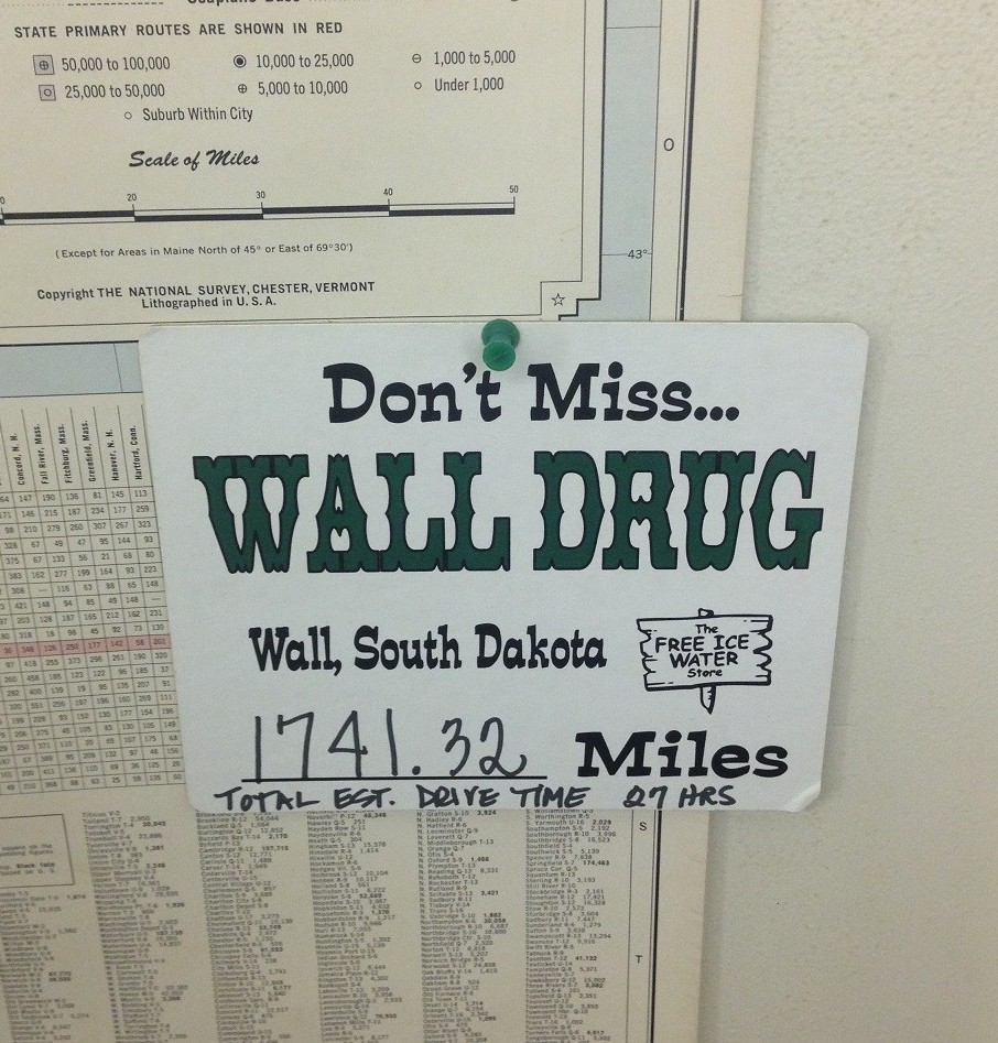 Wall Drug, SD