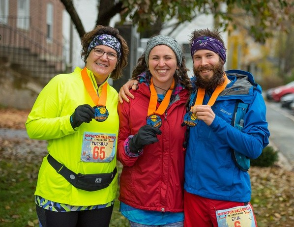 The three Nor'Witch finishers!