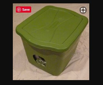 Rubbermaid DIY Outdoor Cat Shelter